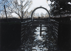 Untitled Arch Painting (QEII)