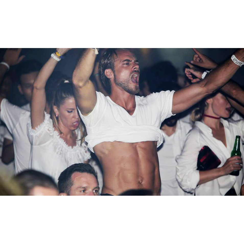 white party Kudeta Bali