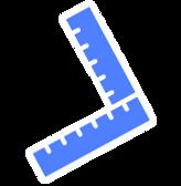 Blue Rulers