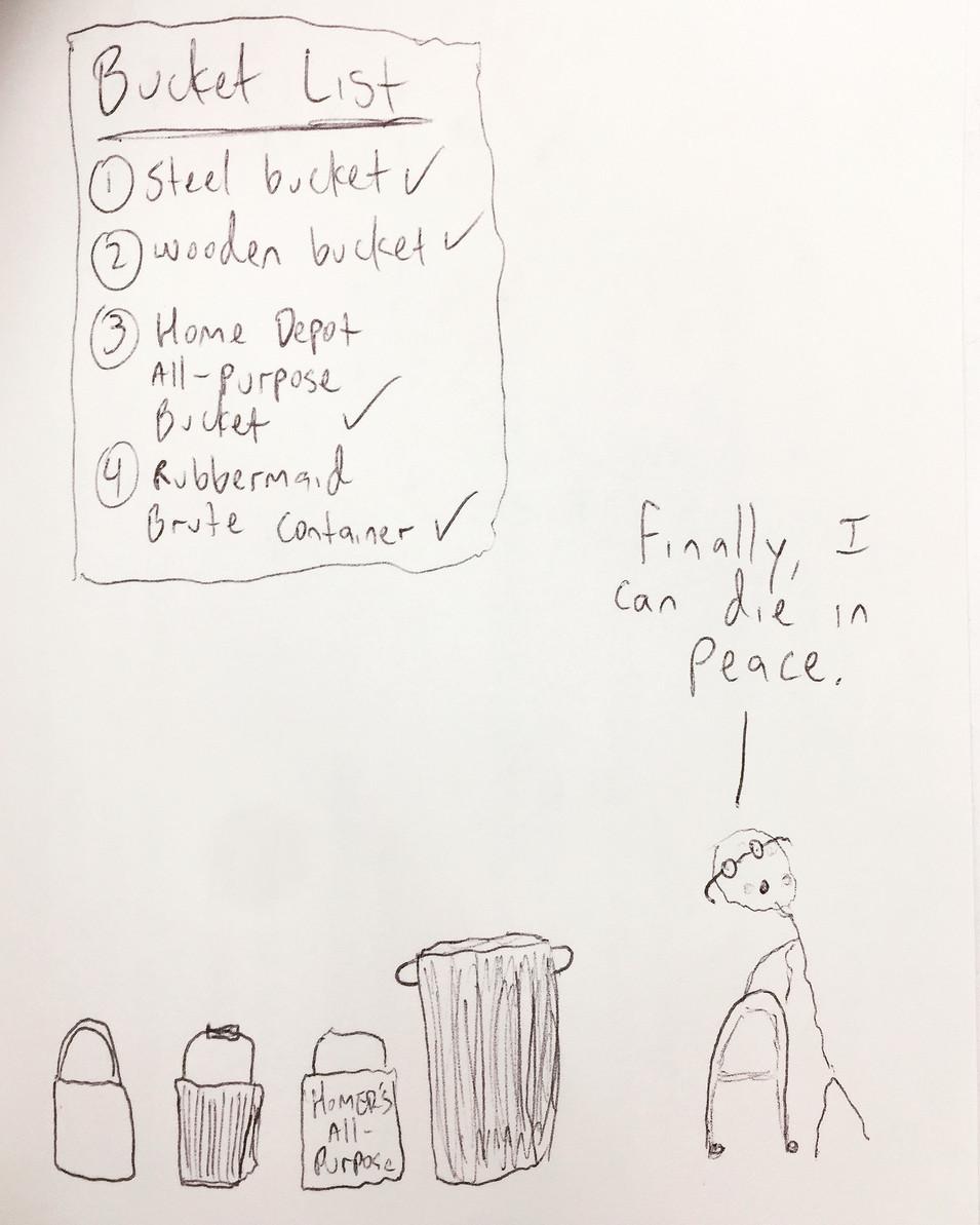 """Bucket List"""