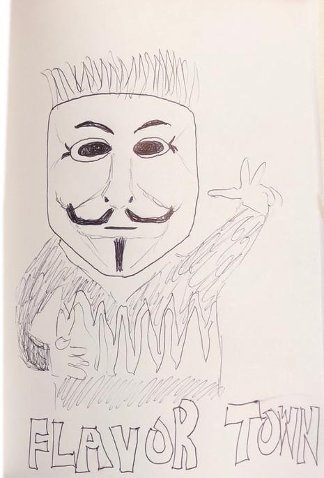"""""""Guy Fawkes Fieri"""""""