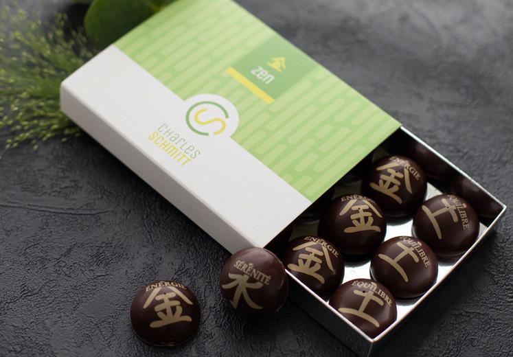 Bonbons Chocolat Zen
