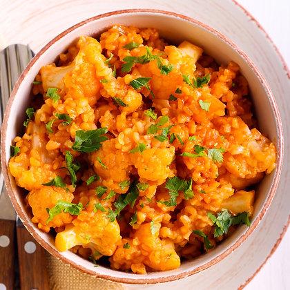 PLAT DU MERCREDI - Curry de Lentilles Corail aux Légumes