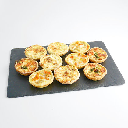 Mini Chaud Cocktail (Mini Quiches)