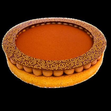 Tarte choco-caramel