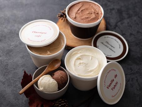 Avec les beaux jours, pensez à nos glaces maison ! 😉