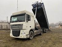 DAF-полуприцеп объем 20 кубов, гп 30 тонн