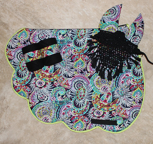Colorful Paisley Scalloped Bundle (sold out)