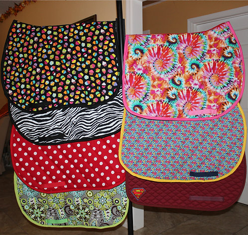 CUSTOM ORDER Saddle Pad