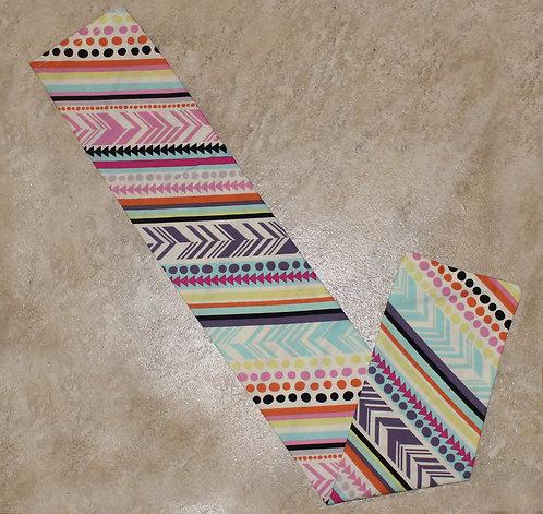 Colorful Aztec Tail Bag