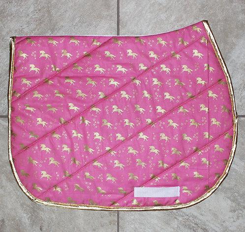 Pink/Gold Unicorn Pattern Pad [Sold Out]