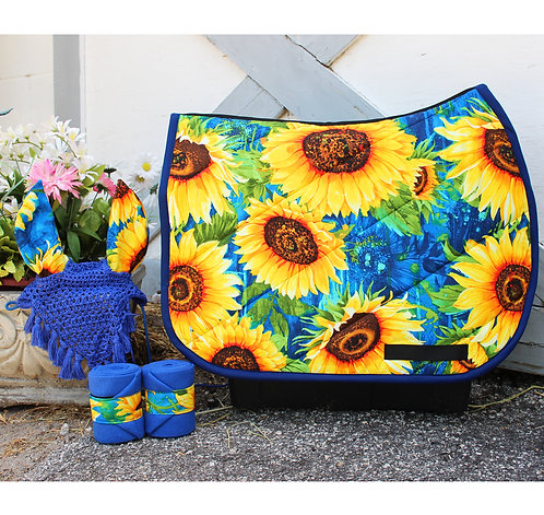 Royal Blue Sunflower Bundle