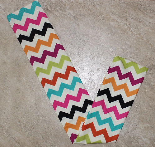 Colorful Chevron Tail Bag