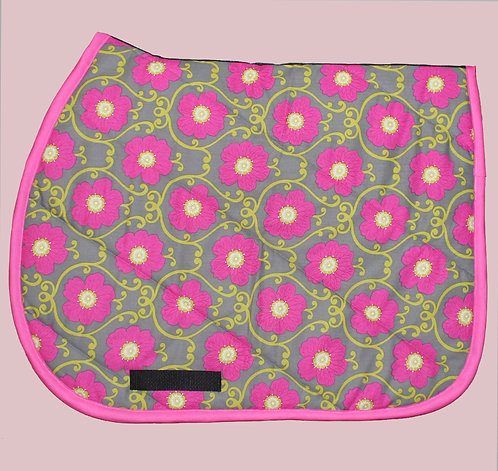 Pink Flowers Pattern Pad (sold out)