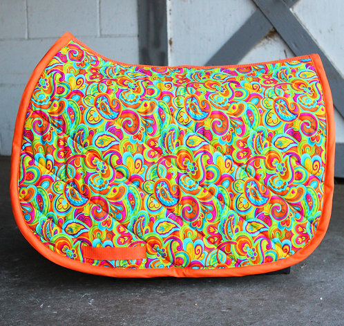 Orange Paisley Pattern Pad [Sold Out]