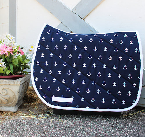 Navy Anchor Pattern Pad