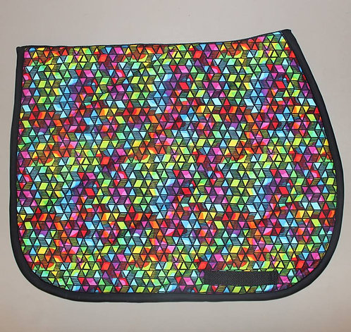 Neon Triangle Pattern Pad (sold out)