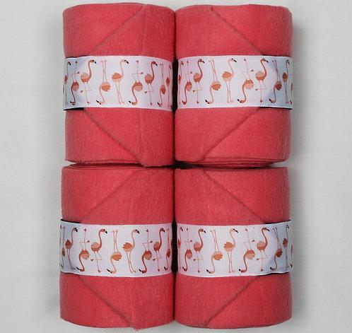 Pink Flamingo Polo Wraps