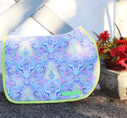 Lavener/Lime Green Pattern Pad [Sold Out]