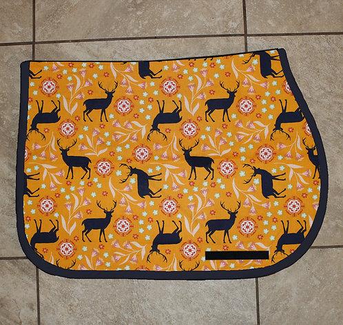 Navy Deer Pattern Pad