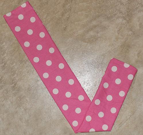Pink Polka Dot Tail Bag