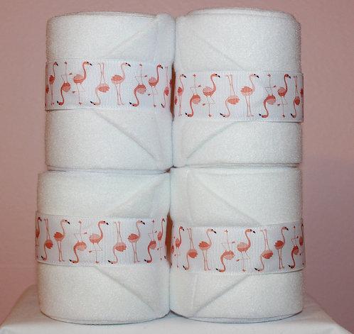 White Flamingo Polo Wraps