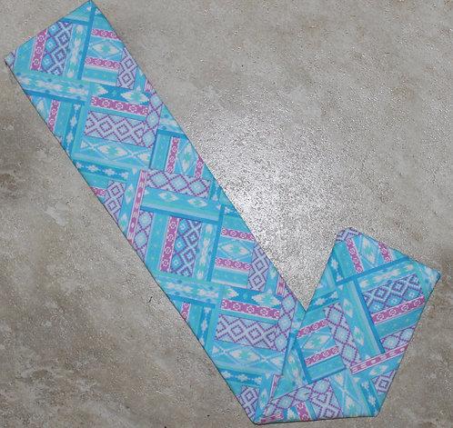 Blue Aztec Tail Bag