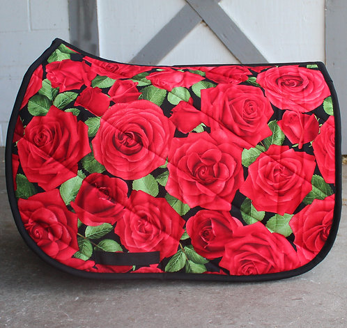 Red Roses Pattern Pad