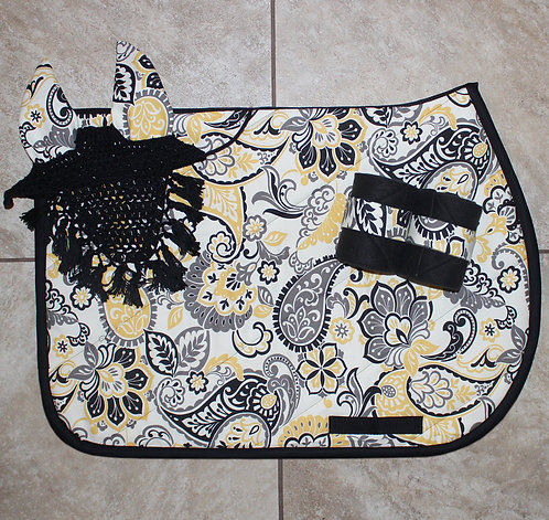 Yellow/Grey Paisley Bundle (sold out)