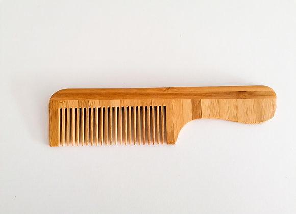 Peigne en bambou