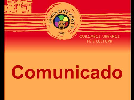 Comunicado - Atividades em suspensão