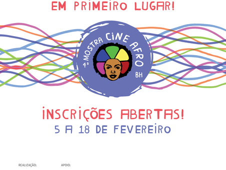 4ª Mostra CineAfroBH recebe inscrições até 18 de fevereiro