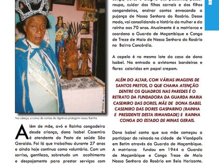 Dona Isabel, Rainha Conga de Minas Gerais