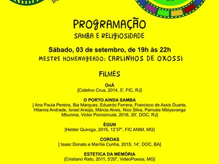 2ª Edição da Mostra CineAfroBH estreia nesse sábado dia 3 de setembro