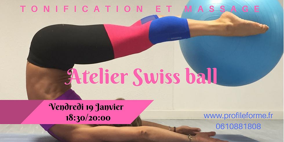SWISS BALL : TONIFICATION & MASSAGE