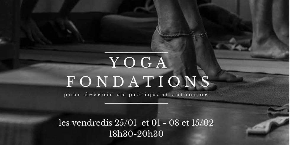 Cycle Yoga Fondations