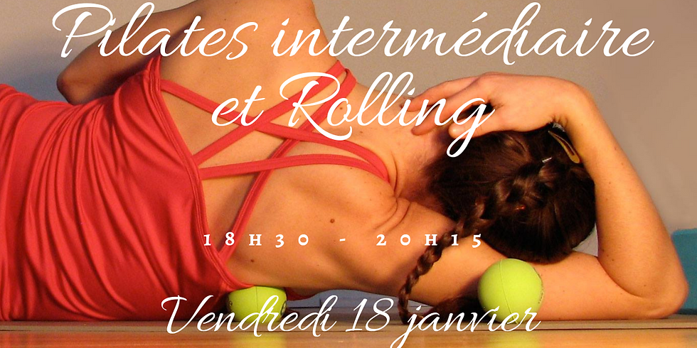 Pilates intermédiare petit matériel & Rolling