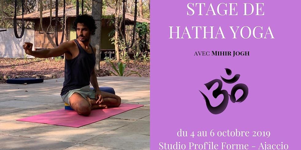 Hatha Yoga - Atelier Alignement avec Mihir jogh