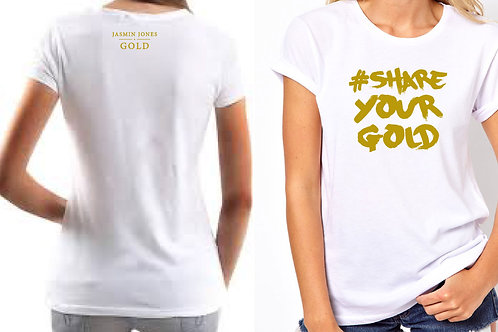 #SYG Womans White T-shirt