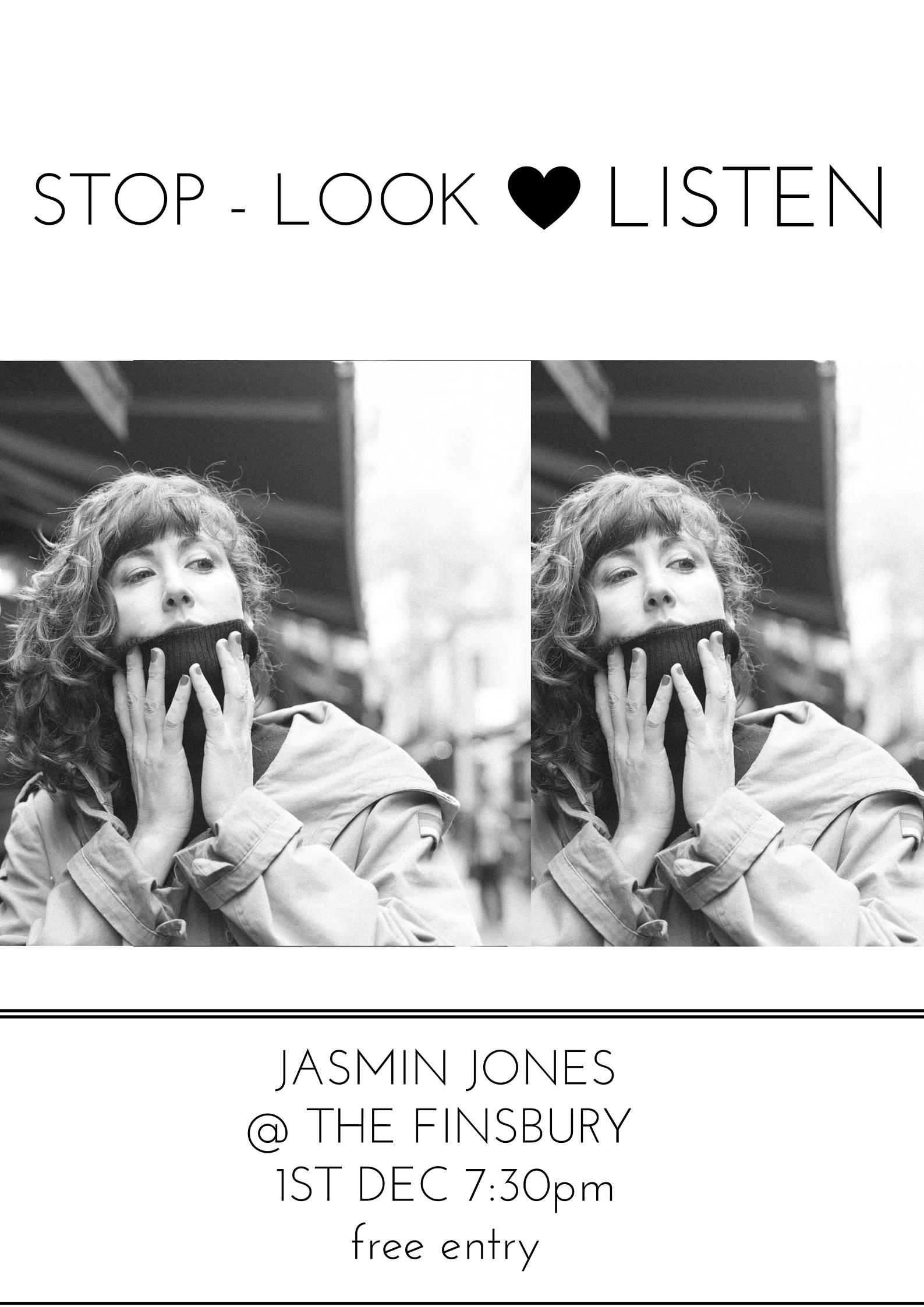 STOP - LOOK - LISTEN