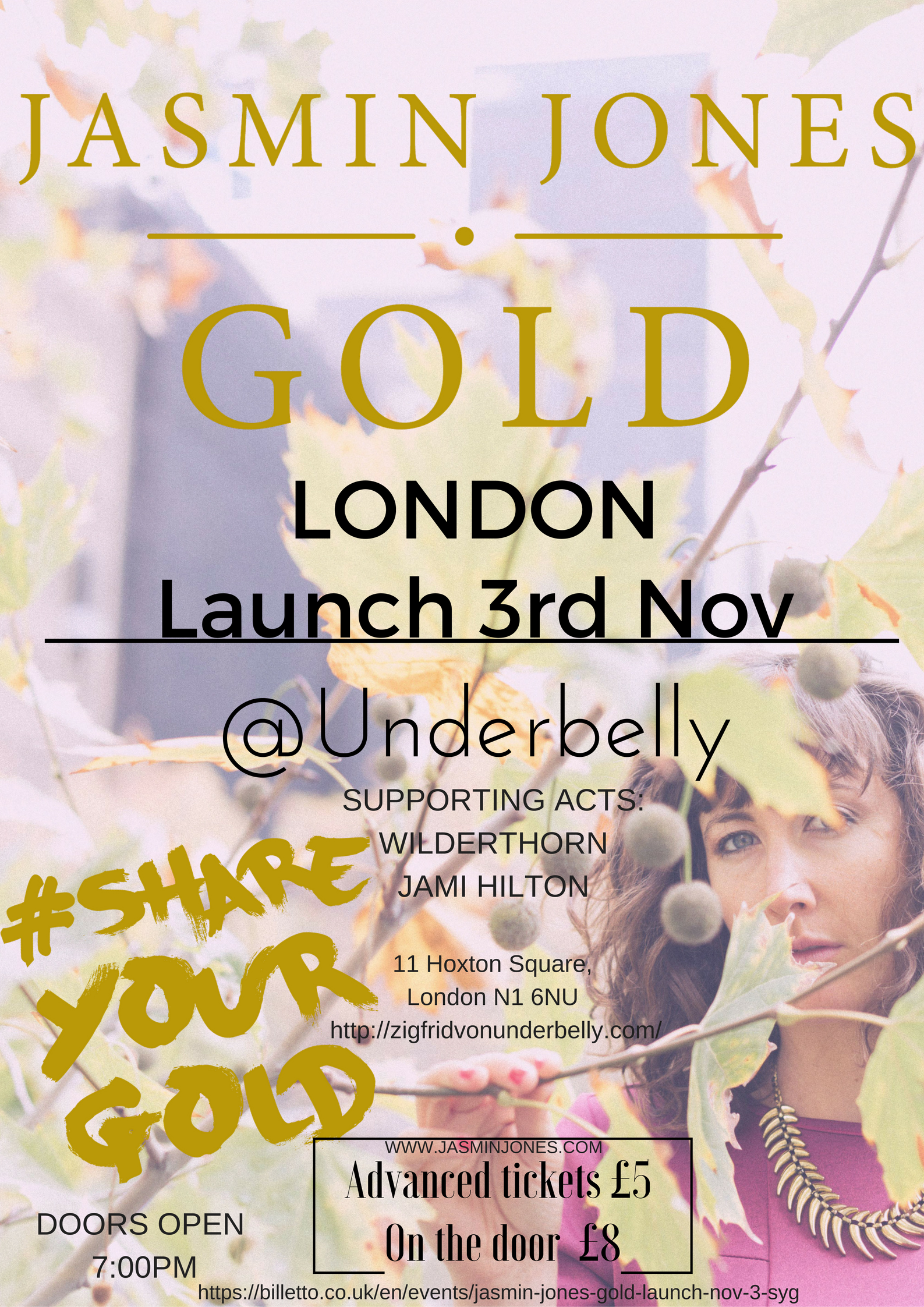 #SYG / GOLD London Launch 3rd Nov
