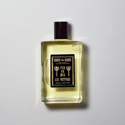 LES VETYVERS PERFUMED OIL