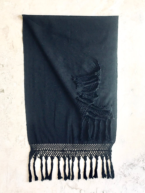 REBOZO FRINGES