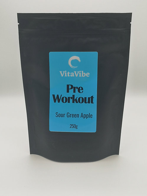 Pre-Workout Green Sour Apple