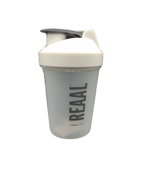"""Small """"It's Real"""" Shaker - White"""
