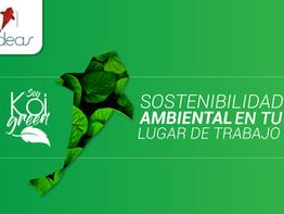 6 tips de sostenibilidad ambiental en tu lugar de trabajo