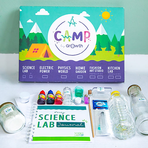 Science Lab 1 + Materiales