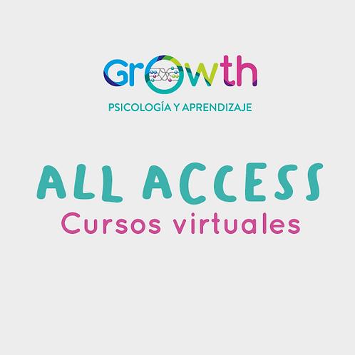 All Access a todos los cursos virtuales