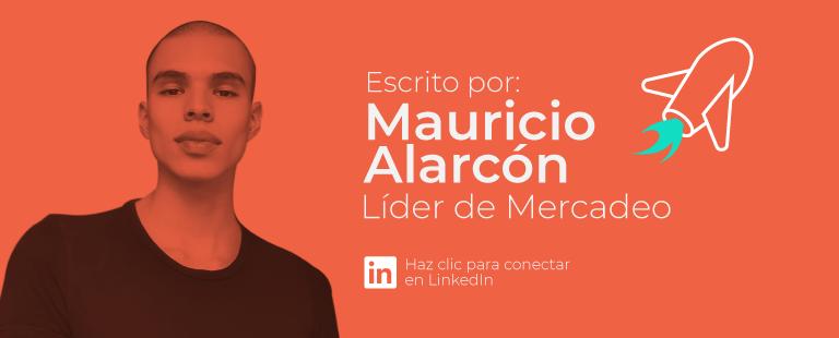 Mauricio Alarcón - Líder de Mercadeo
