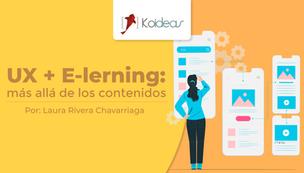 UX + E-learning: más allá de los contenidos